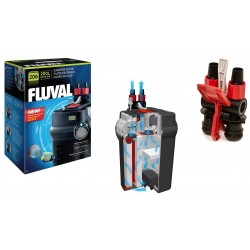 FLUVAL(富華)206 外置過濾桶 AQUARIUM CAPACITY | UP TO 200 litres (45 US Gallons)