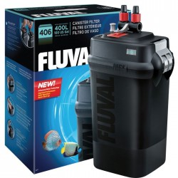 FLUVAL(富華)406外置過濾桶 AQUARIUM CAPACITY  |   UP TO 400 L(100 US GAL)