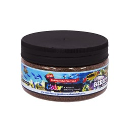 泰國 BEREEF Sinking Pellet Fish Food Color A Powerful Enhancing Formula Size S (125g, 250g)