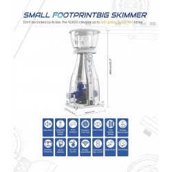 美國品牌Maxspect AeroDuo AD600 Protein Skimmer-蛋白分離器