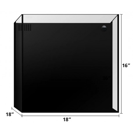 美國 WATERBOX cube 20 (小型超白背滴方缸)