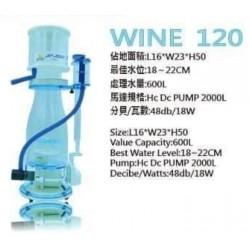 台灣 HC aqua wine 120 protein skimmer (蛋白分離器)